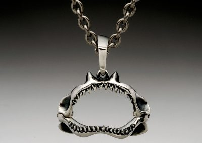 Shark jaw necklace